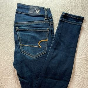 AMERICAN EAGLE  SUPPER STRETCH JEGGINGS